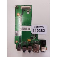I/O USB Audio DC Jack Board για Dell Latitude E5500